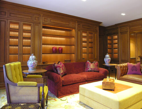 Bookcase and Bar