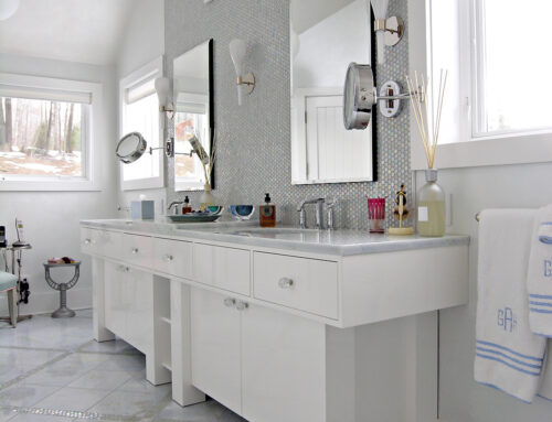 High-Gloss Vanity